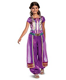 BuySeasons Little and Big Girl's Aladdin - Jasmine Classic Child Costume