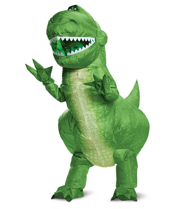 BuySeasons Big Boys and Girls Toy Story 4 - Rex Inflatable Costume