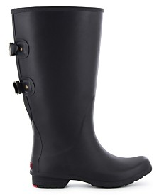 Chooka Women's Wide-Calf Rain Boot