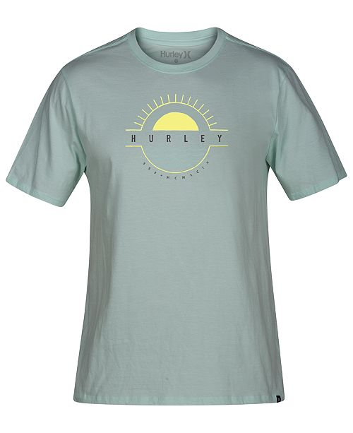 Hurley Men's Horizon Premium Logo Graphic T-Shirt