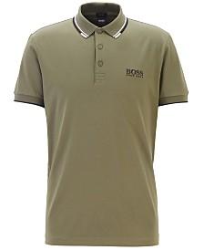 BOSS Men's Regular-Fit Paddy Piqué Polo Shirt
