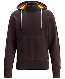 BOSS Men's Balfeo Hooded Sweater