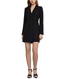 Crepe Blazer Mini Dress