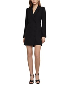BCBGMAXAZRIA Crepe Blazer Mini Dress