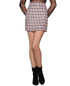 BCBGeneration Tweed Mini Skirt