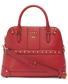 DKNY Whitney Large Dome Satchel, Created for Macy's