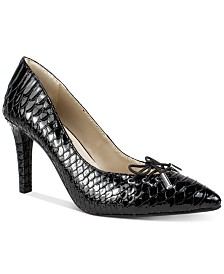 Rialto Mully Lace-Up Pumps