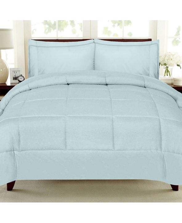 Sweet Home Collection Down Alternative 7-Pc. King Comforter Set