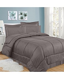 Greek Key 8-Pc. Queen Comforter Set