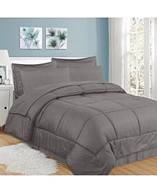 Checkered 8-Pc. Queen Comforter Set