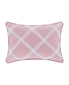 Rosemary Rose Boudoir Decorative Throw Pillow