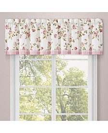Rosemary Rose Window Straight Valance