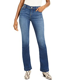 INC Petite INCFinity Stretch Bootcut Jeans, Created For Macy's