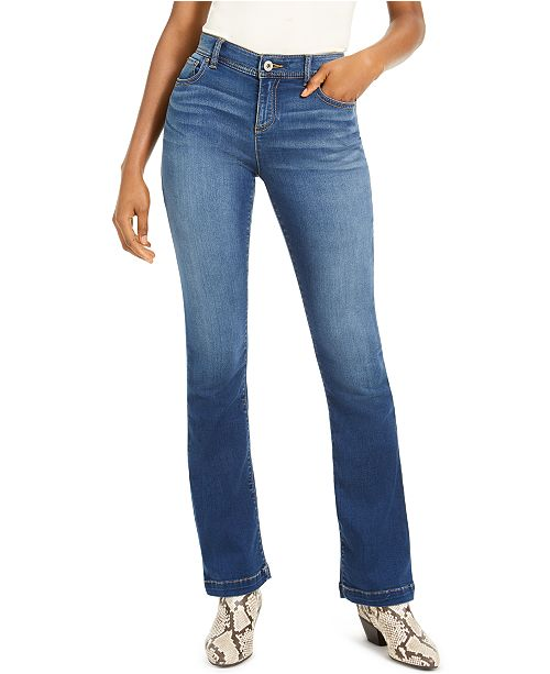 INC International Concepts INC Petite INCFinity Stretch Bootcut Jeans, Created For Macy's