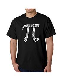 Men's Word Art T-Shirt - 100 Digits of Pi