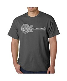 Men's Word Art T-Shirt - Blues Legends