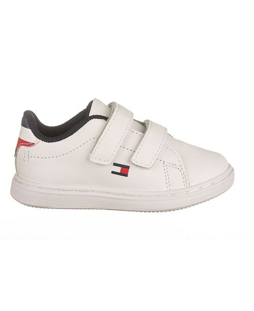 Tommy Hilfiger Toddler, Little and Big Kids Unisex Iconic Court Alt Sneakers
