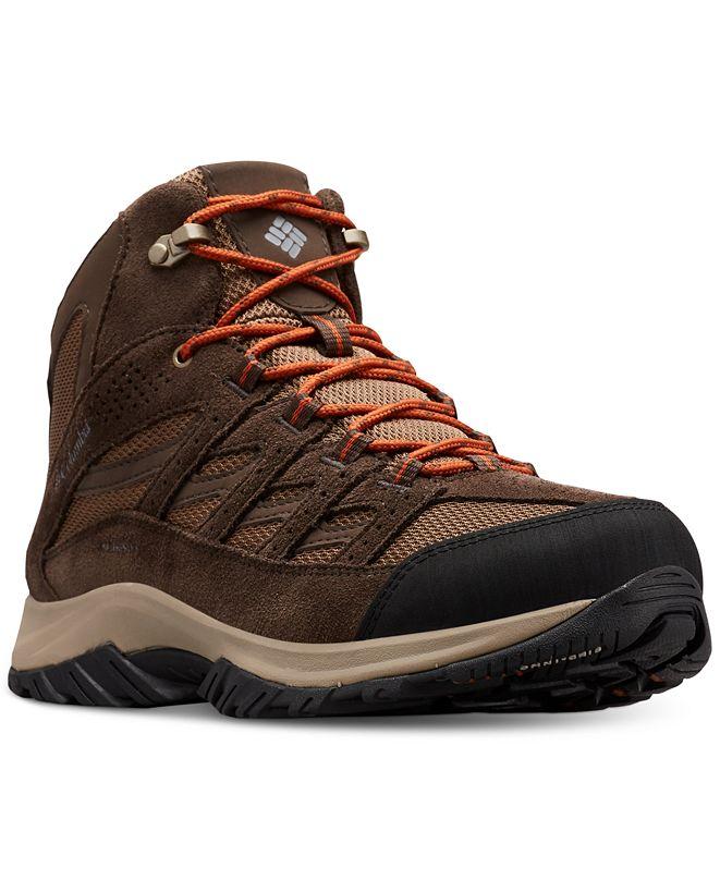 Columbia Men's Crestwood™ Waterproof Mid-Height Hiking Boots