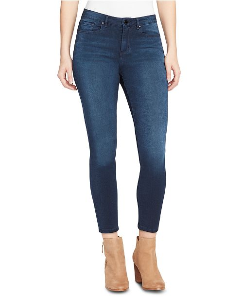 WILLIAM RAST Sculpted High-Rise Skinny Ankle Jeans