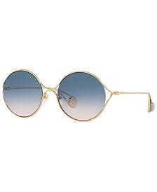 Gucci Sunglasses, GG0253S 58