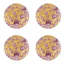 Kingsley  Ochre Salad Plate, Set of 4