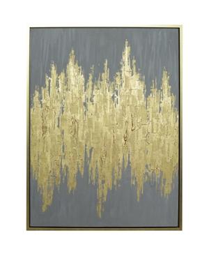 Harp & Finial Queens Framed Canvas
