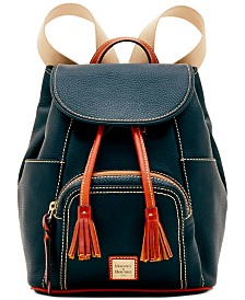 Dooney & Bourke Pebble Leather Murphy Backpack