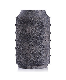 Binani Charcoal Decorative Concrete Vase