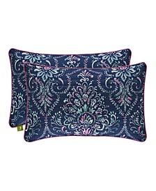 Kayani Quilted Boudoir Decorative Throw Pillow