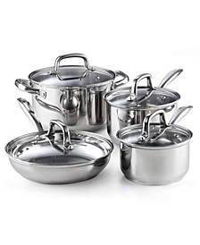 02606, 8-Piece Stainless Steel Cookware Set