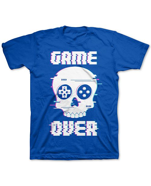 Jem Big Boys Game Over Glitch T-Shirt