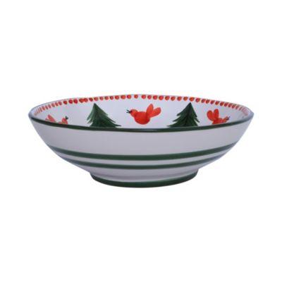 Uccello Rosso Medium Serving Bowl