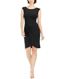 Jessica Howard Petite Draped Dress