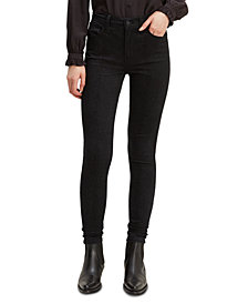 Levi's® 720 Python-Print High-Rise Super Skinny Jeans