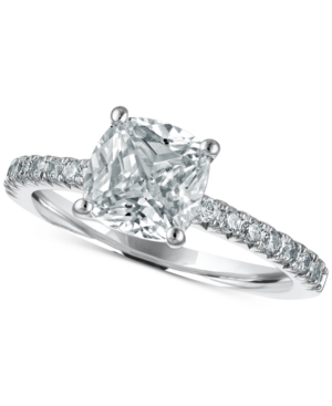 Limited Edition Macy's Star Signature Diamond Engagement Ring (2-1/4 ct. t.w.) in 14k White Gold