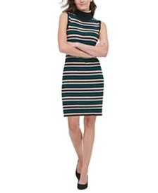 Tommy Hilfiger Striped Sweater Dress
