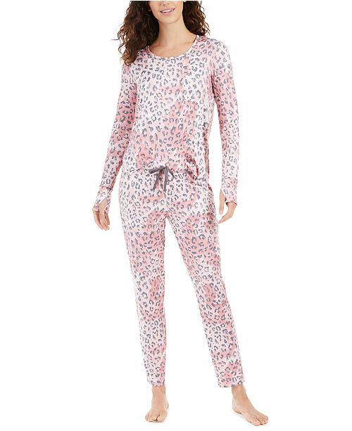 Josie #PJsallday Printed Pajamas Set