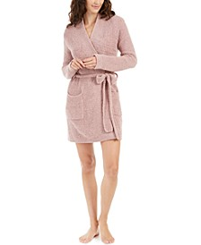 Textured Sweater Knit Short Daydreamer Robe