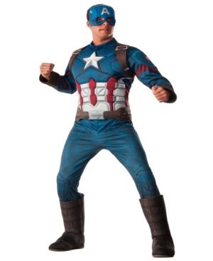 Buy Seasons Men's Avengers 2 - Age of Ultron: Deluxe Captain America Costume