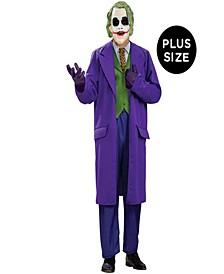 DC Comics Men's Batman Dark Knight The Joker Deluxe Plus Costume