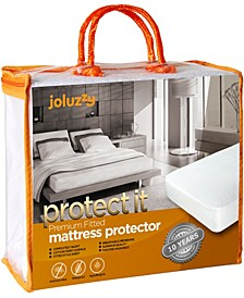 Waterproof Mattress Protector, Fitted Sheet, Cotton Surface