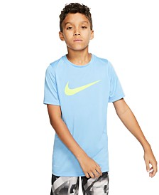 Nike Big Boys Swoosh-Print T-Shirt