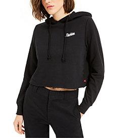 Dickies Cropped Cotton Logo Hoodie