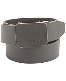 Men's Plaque-Buckle Belt