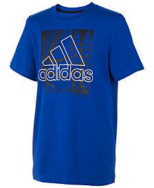 adidas Big Boy Logo-Print Cotton T-Shirt