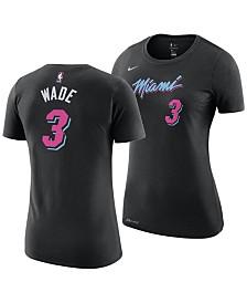 Nike Women's Dwyane Wade Miami Heat City Edition Player T-Shirt