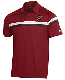 Under Armour Men's South Carolina Gamecocks Tour Drive Polo