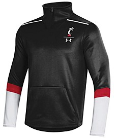 Men's Cincinnati Bearcats Team Issue Quarter-Zip Pullover