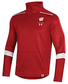 Men's Wisconsin Badgers Team Issue Quarter-Zip Pullover