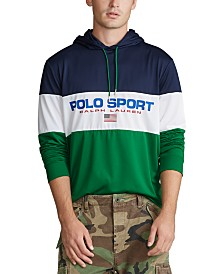 Polo Ralph Lauren Men's Performance Polo Sport Hooded Jersey T-Shirt